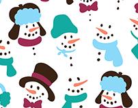 TJX Snowman Pattern