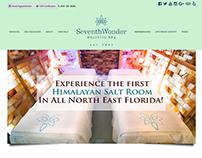 Seventh Wonder Spa - UI/UX Website Redesign