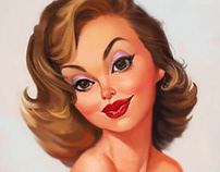 Classic Pin up study with a twist