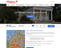 St. Thaddeus website design