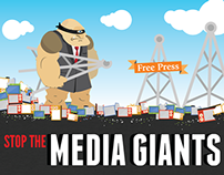 Media Giants Infographics