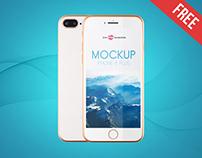 2 Free iPhone 8 Plus Mock-ups in PSD