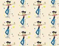 """Tokyo people - """"Lucky Step"""" : Pattern design vol.3"""