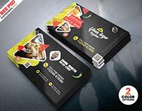 Creative Restaurant Business Card PSD Templates