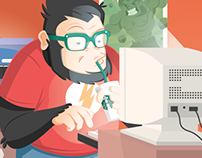 Agency Gorilla Geek - Promotional illustration