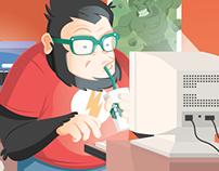 Agency Gorilla Geek - Promotional illustration