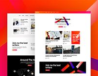 Mojz UI/UX Design.