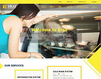 Dras.com.my website design