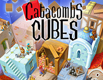 """Art for board game """"Catacombs Cubes"""""""