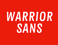 Warrior Sans Typeface