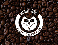 Nigh Owl Coffee Corporation Logo - 2014