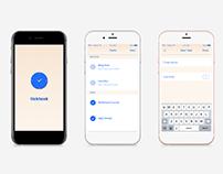 TickTask App Design