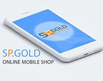 Sp.Gold Online Mobile Shop Application
