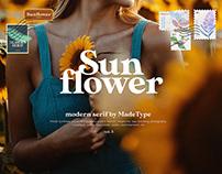 Free Made Sunflower Serif Font