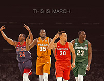 'This is March' graphic for NBC Sports Bay Area