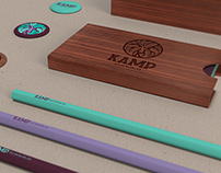 KAMP Hawaii - Nonprofit youth organization branding