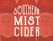 Southern Mist Cider Packaging