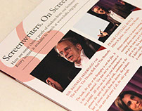 BAFTA and BFI Screenwriters' Series 2012 Brochure