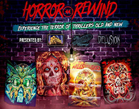 Fox Horror Rewind Event Invitation and Logo