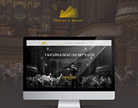 House of music - fabulous branding and website