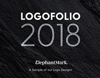 Logofolio 2018 - By ElephantMark LLC