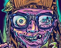Self-portrait 2015 (Zombie Style)