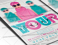Sundays Party Flyer - PSD Template