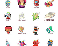 MEX STICKERS / SMS stickers