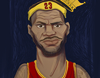 WEEKLY SKETCHBOOK: King James