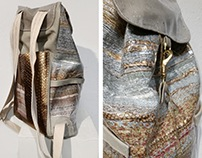 Handwoven Backpack - Anatomy of a Protest