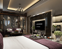 master bed room design