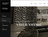 Webdesign - Restaurant Columna