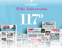 Aniversario 117º El Liberal