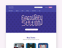 Embroidery Station UI/UX