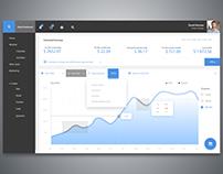 Dashboard Analytics Chart UI
