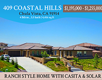 Armistice San Diego Real Estate Flyer Design