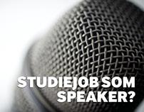 Speaker - studentermedarbejder