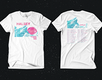 Commissioned Halsey Merch Designs