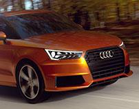 Audi A1 Alias Modeling & CGI