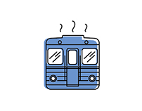 Budapest M3 subway line - Icon set