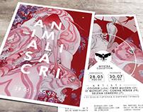 Nero Gallery // ANIMALISACRI // flyer