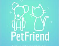 PetFriend App Concept