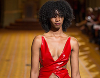 2018 Go Red For Women's Rock The Red Fashion Show Dress
