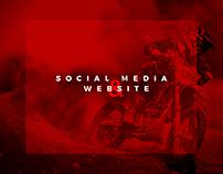 Social Media & Website - Motorcycle Parts
