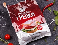Bread Rusks Packaging Design – Tiraspol