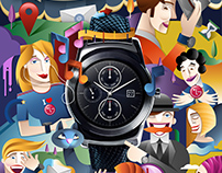 LG Urbane Watch Poster