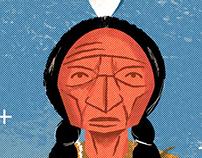 Digital Lakota Chief