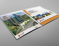 Square Brochure Template Design.