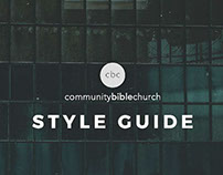 Community Bible Church Style Guide