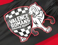 ROMANS VALENCE DROME RUGBY - Logo, identity